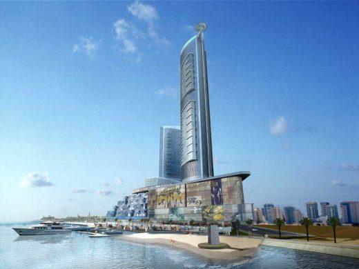 Nomas Towers Bahrain building design