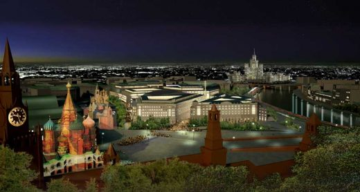 Zaryadye Project Moscow design by Foster + Partners