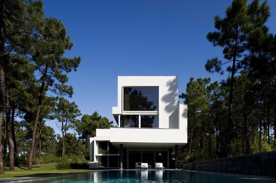 house ii in aroeira caparica building portugal e architect. Black Bedroom Furniture Sets. Home Design Ideas