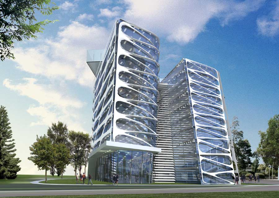 Lac Trung Software City 3 - e-architect