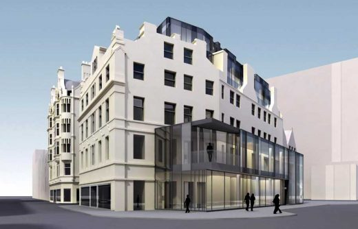 Union Street hotel Aberdeen building design
