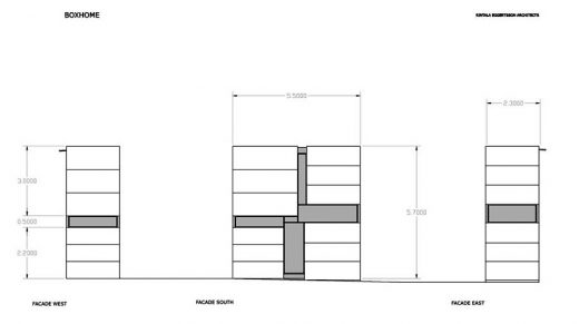 Boxhome Oslo, Norway elevation
