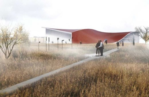 Randers Museum of Art building by 3XN Architects