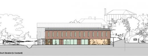 Sherborne School Music Building design by ORMS in Dorset