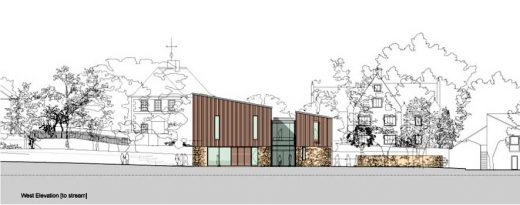 Sherborne School Music Building design by ORMS