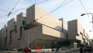 Universita Luigi Bocconi Milan building by Grafton Architects