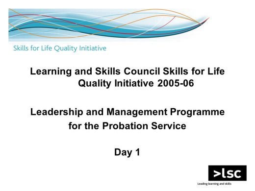 Learning and Skills Council Programme