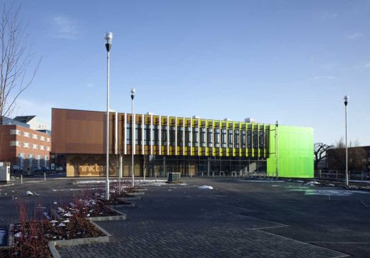 Lincoln Think Tank building by Marks Barfield Architects