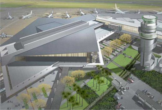 Christchurch Airport building design