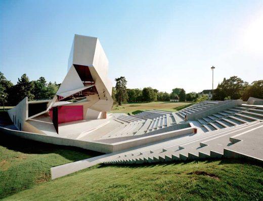 Cloudtower Grafenegg Open-air pavilion Austria building
