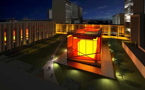 Public Academy Suzhou Campus, China building design by RMJM