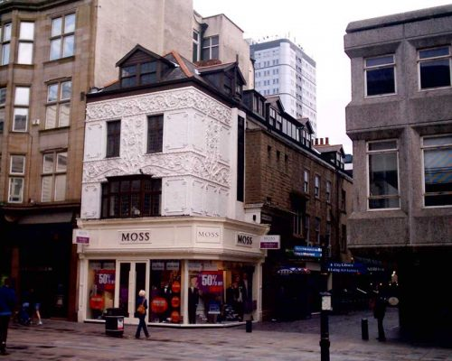 Moss Clothes store Newcastle