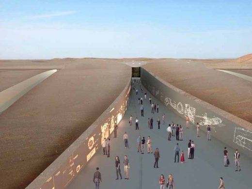 Spaceport New Mexico building by Foster + Partners in USA