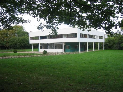 Villa Savoie Poissy house by Le Corbusier architect