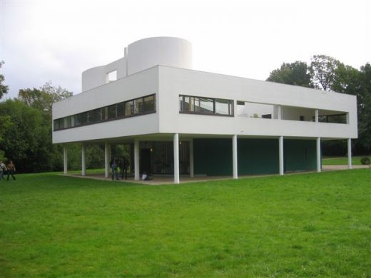 Villa Savoye Poissy Le Corbusier house France