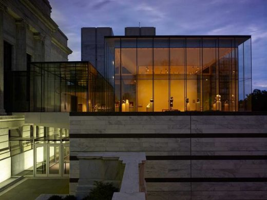 Cleveland Museum of Art Ohio building by Rafael Viñoly Architects