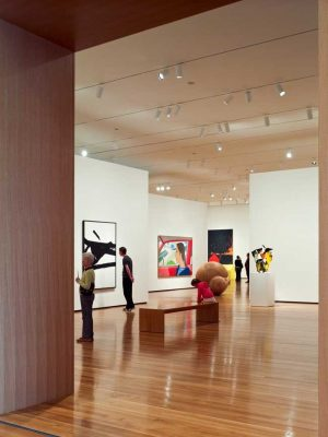 Cleveland Museum of Art Ohio building interior by Rafael Viñoly Architect