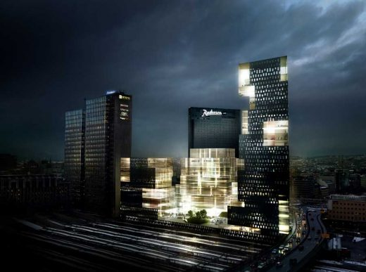 Crystal Clear Oslo, Norway building design