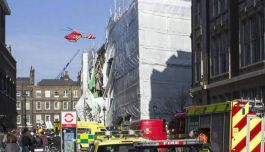 Holborn Building Collapse