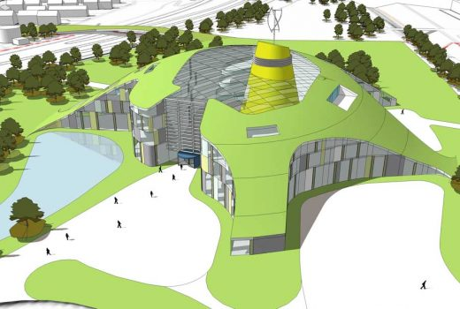Inverness College Campus building design by BDP