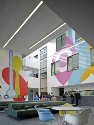 London Health Centre building design by Allford Hall Monaghan Morris