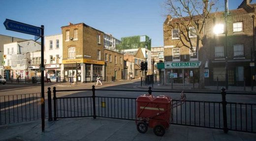 Squirries Street Penthouses, Bethnal Green, London