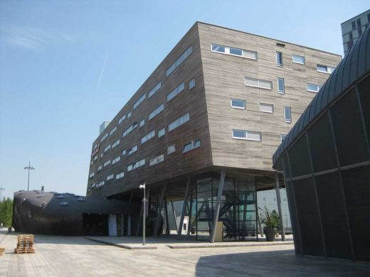 Almere timber clad building