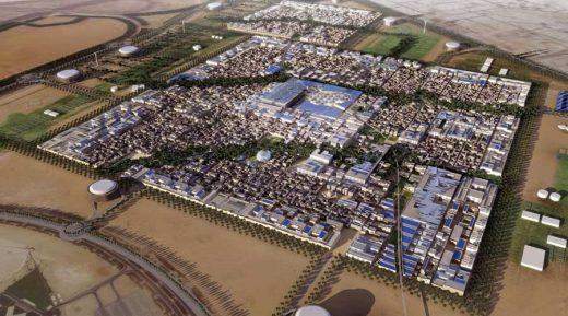 Masdar Plaza near Abu Dhabi by LAVA