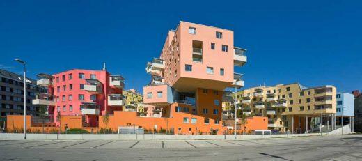 Building with Verandas Vienna Apartment Building