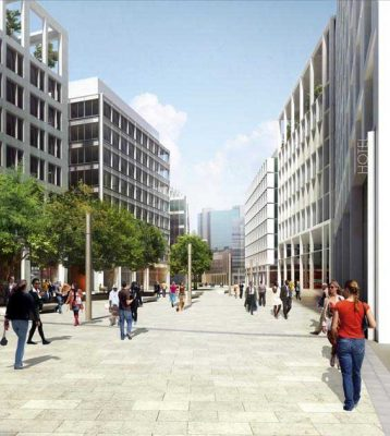 Friargate Regeneration: Coventry Building