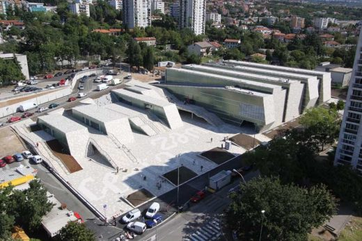 Zamet Sports Center, Rijeka building, Croatia