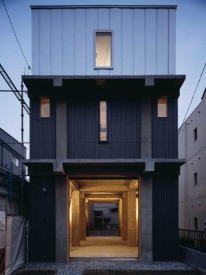 FT Architects - Column and Slab House