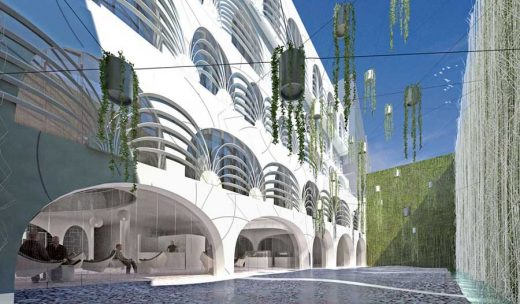 Institute for Islamic Culture Paris building design