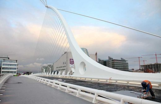 Samuel Beckett Bridge Dublin Architecture Tours