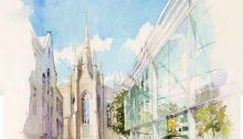 Aberdeen Regeneration masterplan by HOK Architects