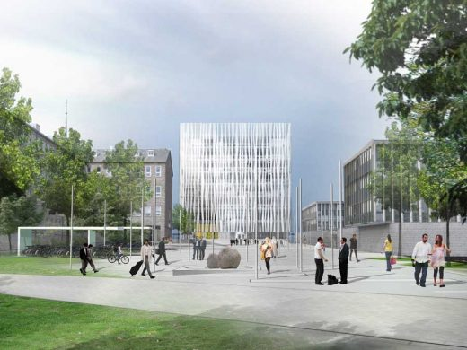 Aberdeen University Library Building shl design