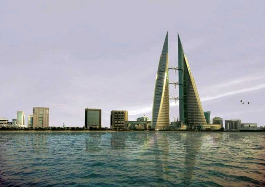 World Trade Center Manama Bahrain building