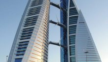 Bahrain World Trade Center building Manama