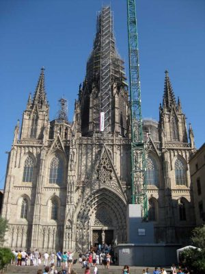 Barcelona Cathedral Building