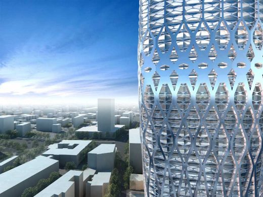 Bucharest Tower Romania building by Zaha Hadid Architects