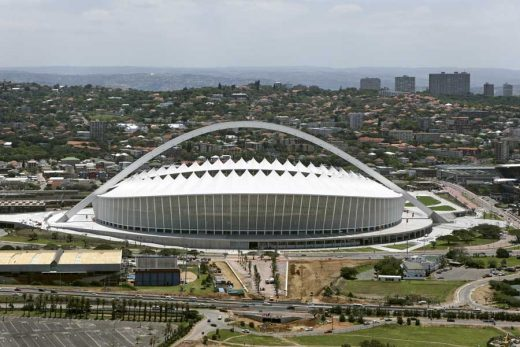 Durban Stadium World Cup 2010 arena building
