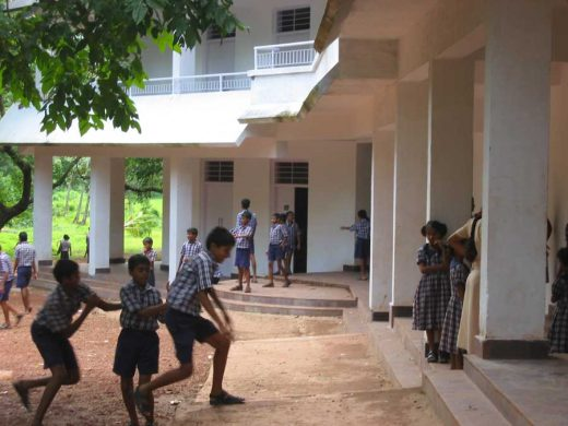 School children at an Article 25 school in Goa