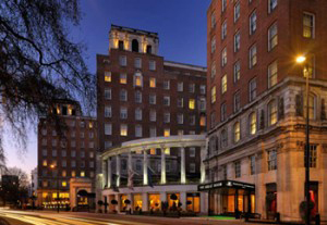 Grosvenor House hotel in London