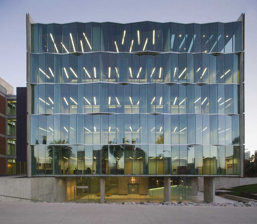 Meinel Optical Sciences Building - Tucson Building - e-architect