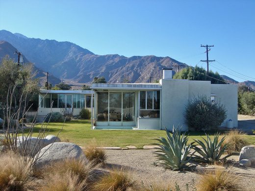 Miller House in Palm Springs, California, USA