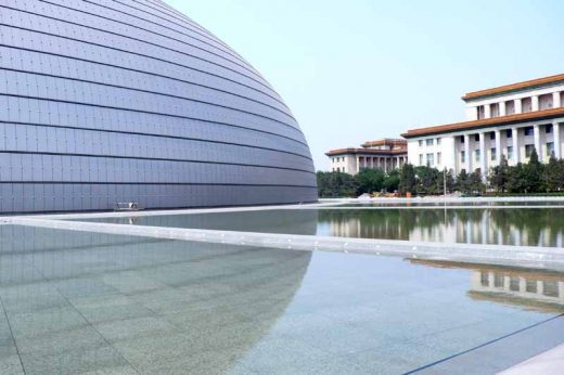 National Grand Theater of China Beijing Arts Building