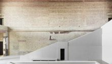 Neues Museum Building Berlin interior by David Chipperfield Architects
