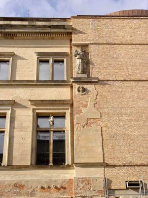 Neues Museum Building Berlin facade