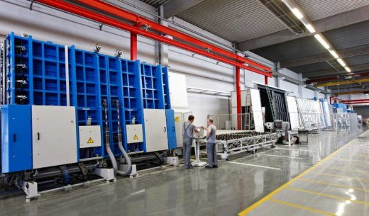 OKALUX Insulating Glass, Linie V Germany factory production