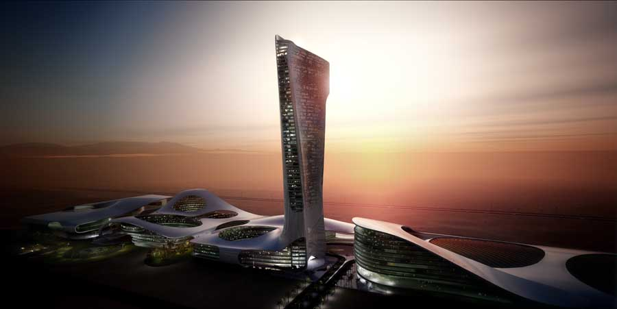 Ras Al Khaimah Gateway 2 E Architect